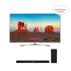 "Picture of LG 55"" 55UK7500 Smart 4K UHD/LG HT Sound Bar SK5"